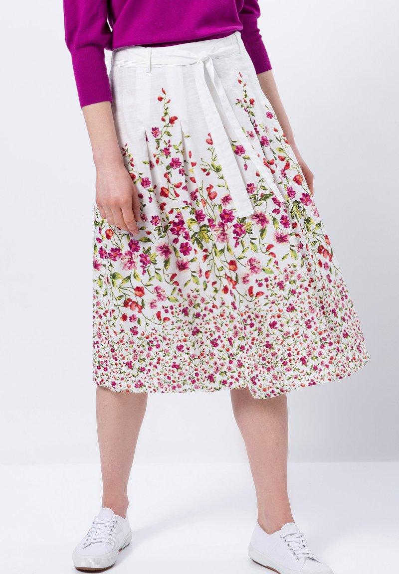 zero - A-line skirt - offwhite