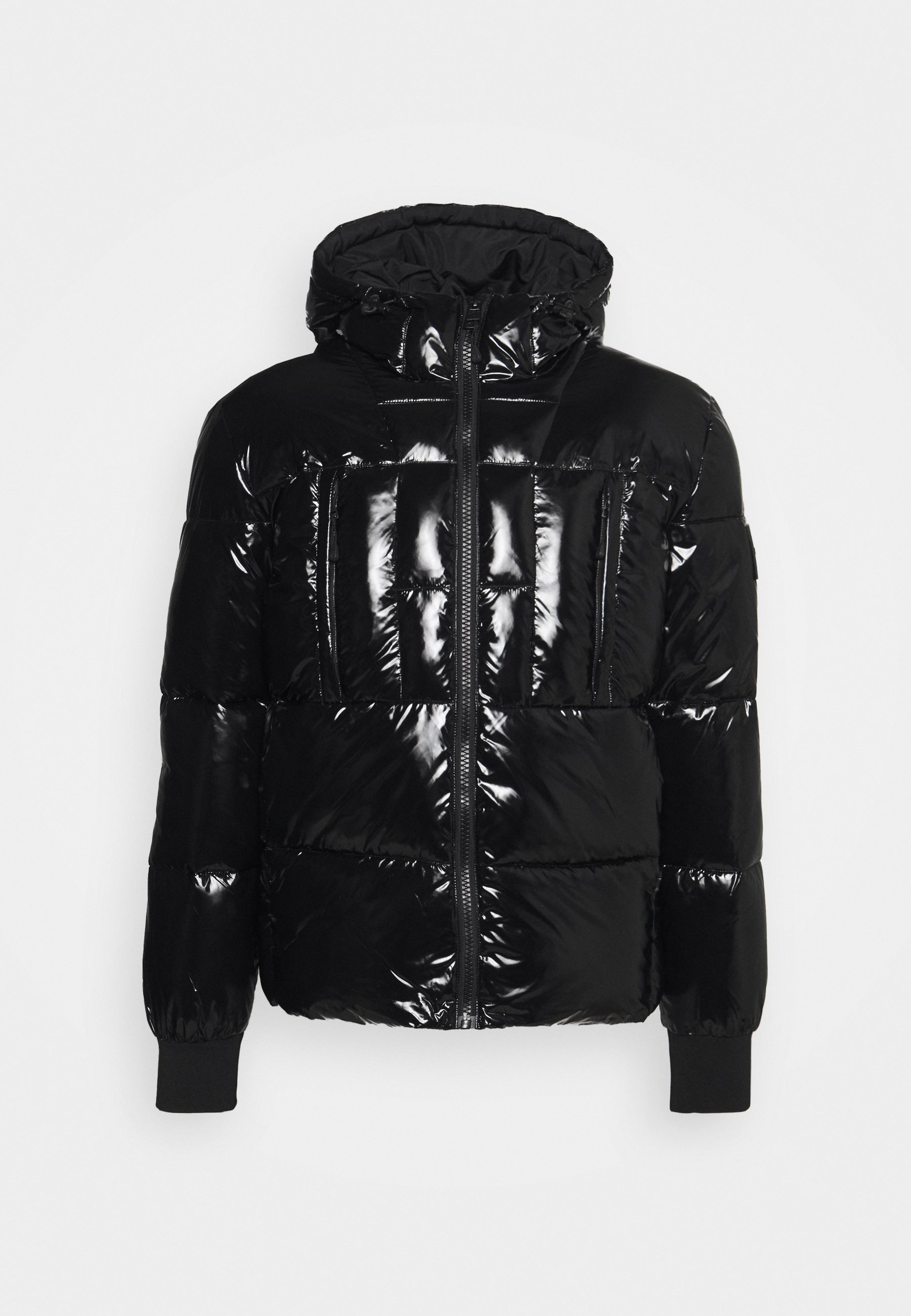 Uomo HOODED HIGH SHINE PUFFER UNISEX - Giacca invernale