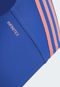 adidas Performance - ATHLY V 3-STRIPES SWIMSUIT - Swimsuit - blue - 4