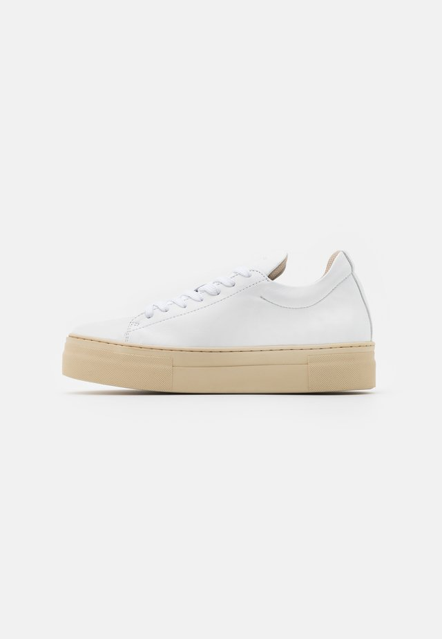 SLFHAILEY TRAINER - Sneakers laag - white