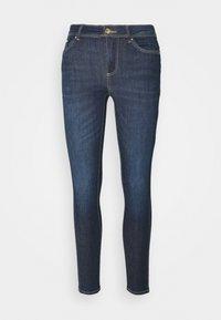 ONLY - ONLWAUW LIFE MID  - Jeans Skinny Fit - dark blue denim - 3