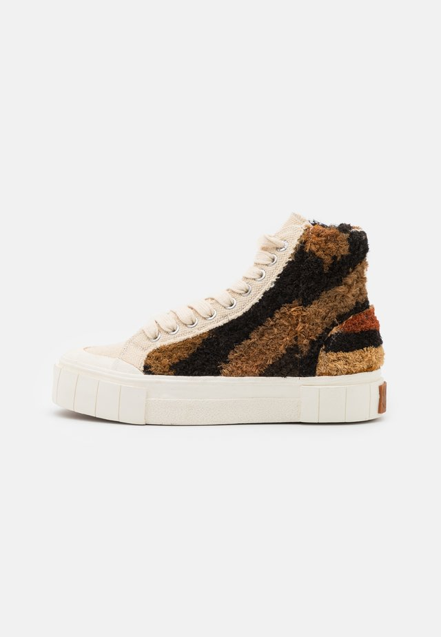 PALM MOROCCAN UNISEX - High-top trainers - oatmeal