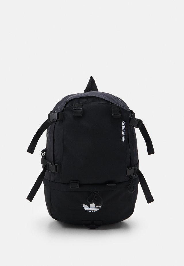 BACKPACK UNISEX - Reppu - black/white
