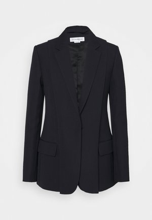 DOUBLE LAYER JACKET - Blazer - dark navy