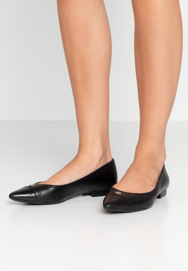 HALENA - Ballet pumps - black