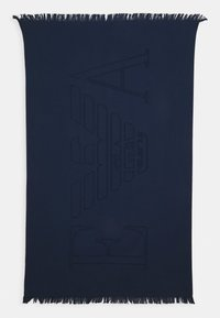 Emporio Armani - TOWEL - Bath towel - blu navy - 1