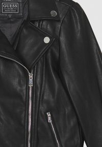 Guess - JUNIOR JACKET - Giacca in similpelle - jet black - 2