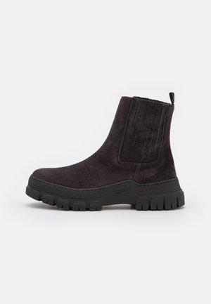 GENEPI - Platform ankle boots - antracite