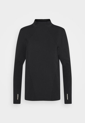 RUSH SEAMLESS - Langarmshirt - black