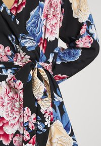 Vila - VIKITTIE DRESS - Day dress - black/blue/rose/beige - 7