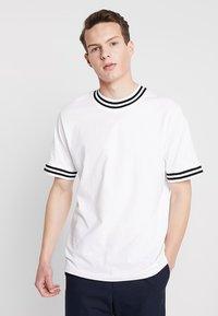 Weekday - MARK - T-Shirt print - white - 0