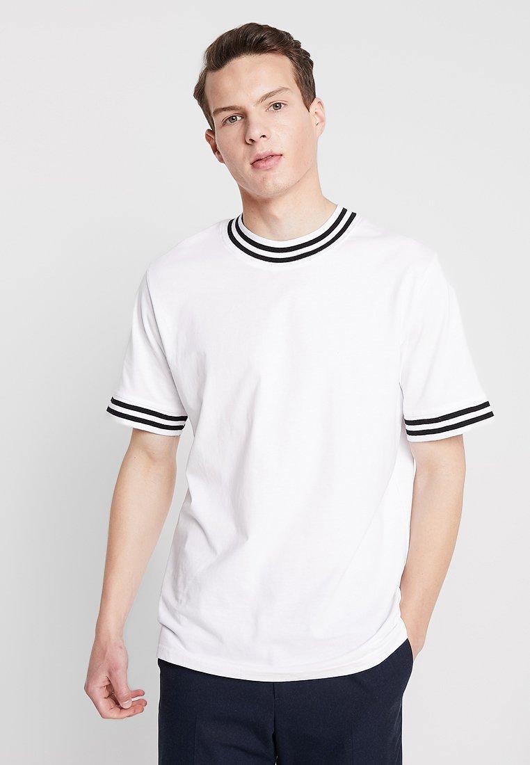Weekday - MARK - T-Shirt print - white