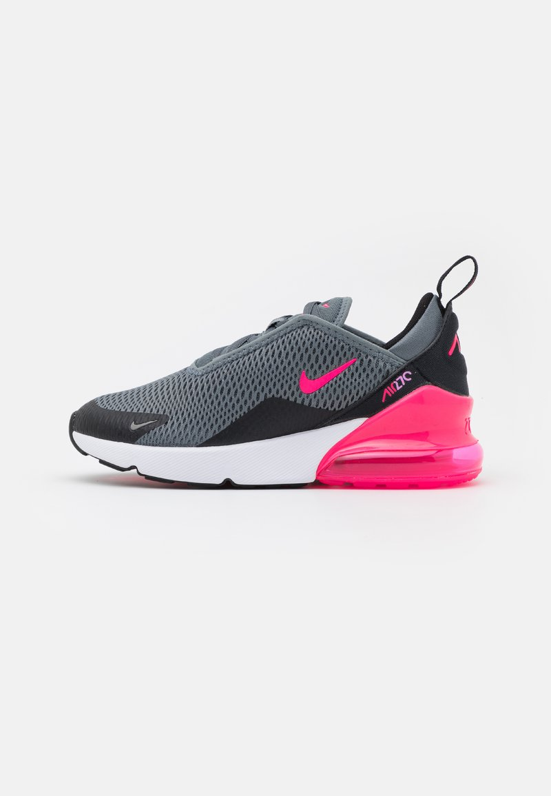 Nike Sportswear - AIR MAX 270 - Tenisky - smoke grey/hyper pink/black/white