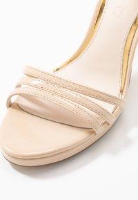 Buffalo - MELISSA - Sandály na vysokém podpatku - nude - 2
