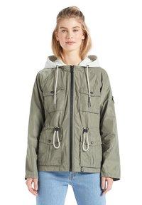khujo - FAMKE - Light jacket - hellkhaki - 6