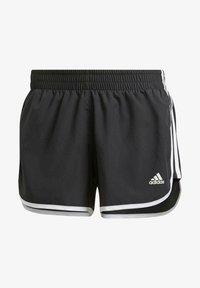 adidas Performance - Marathon 20 SHORT RESPONSE AEROREADY RUNNING REGULAR SHORTS - Pantalón corto de deporte - schwarz - 0