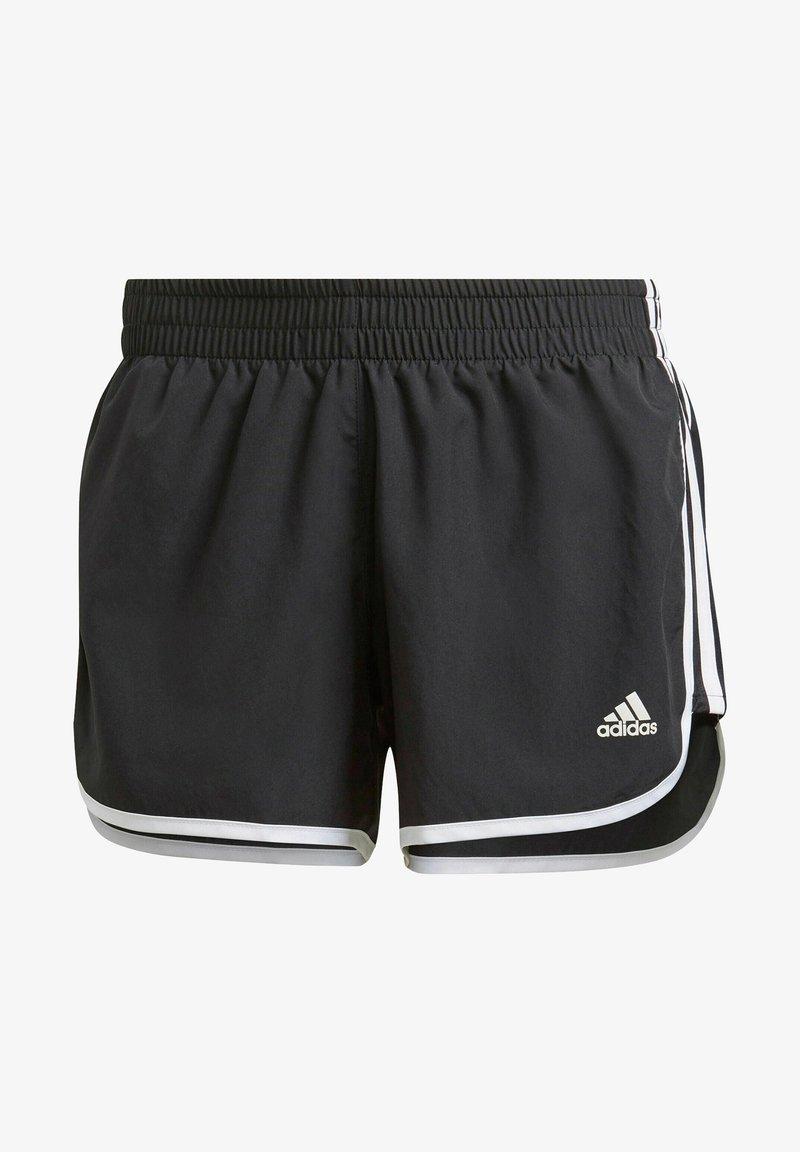 adidas Performance - Marathon 20 SHORT RESPONSE AEROREADY RUNNING REGULAR SHORTS - Pantalón corto de deporte - schwarz