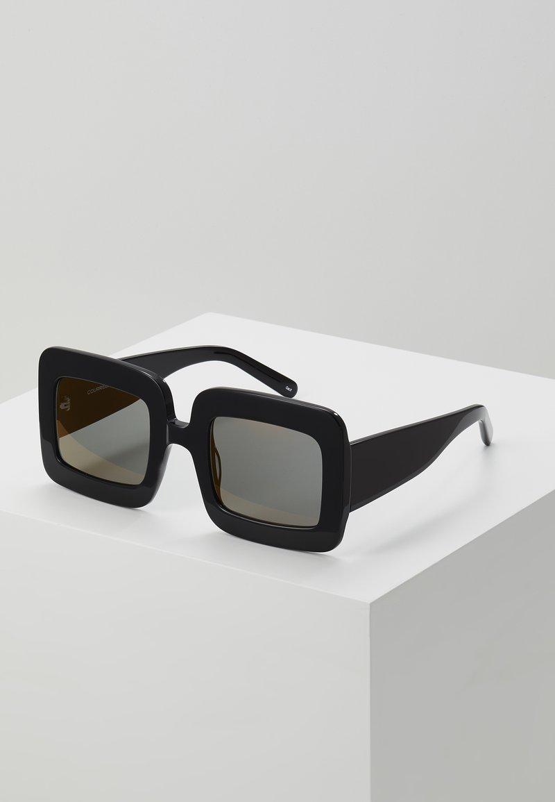 Courreges - Sunglasses - black/copper