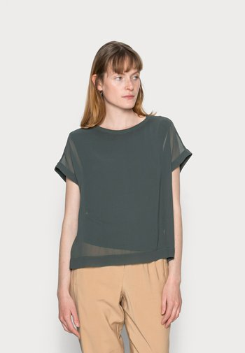 FALOMA - Blouse - dark green