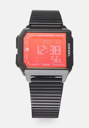 CHOPPED UNISEX - Digitaal horloge - black