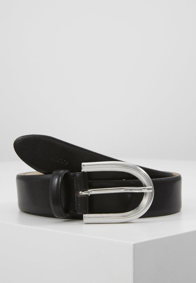 ISABEL BELT - Cinturón - black