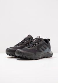 adidas Performance - TERREX CMTK GORE TEX - Trail running shoes - core black/grey three - 2