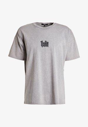 Print T-shirt - vintage smoke