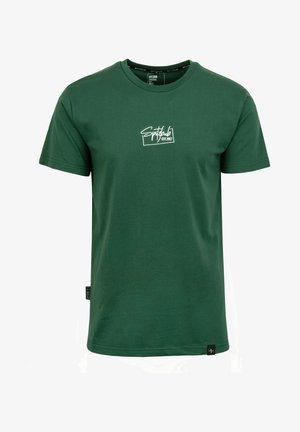 THOMAS - T-shirt basic - grün