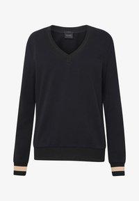 Scotch & Soda - V-NECK  - Sweatshirt - black - 4