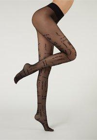 Calzedonia - DENIER - Leggings - Stockings - nero - 1