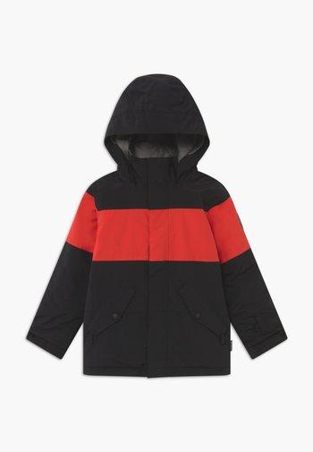 SYMBOL  - Snowboard jacket - black/red