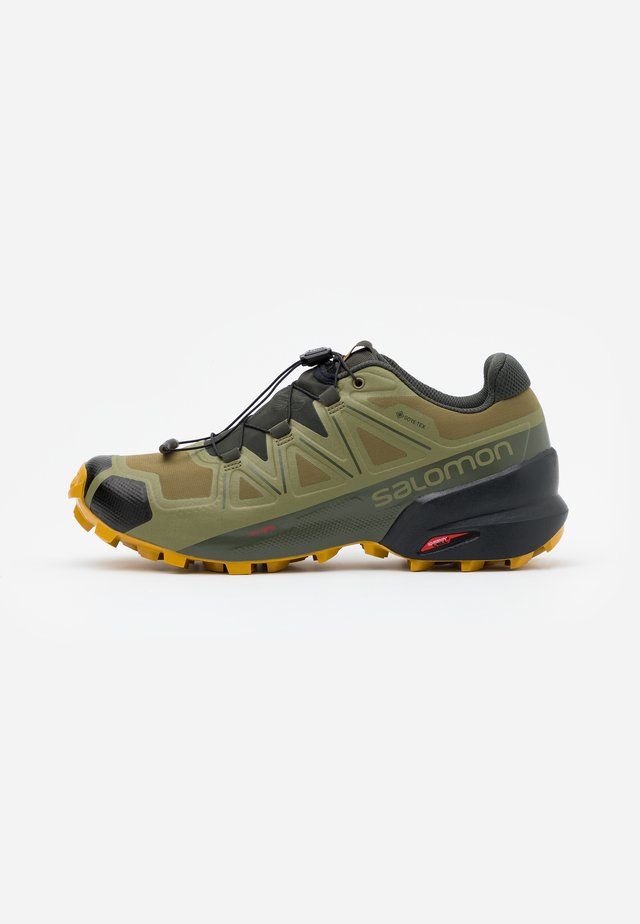 SPEEDCROSS 5 GTX - Trail running shoes - martini olive/peat/arrowwood