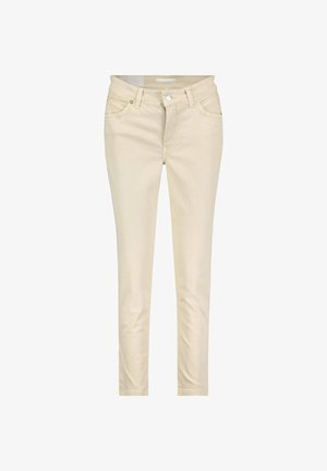 "DAMEN JEANS ""MELANIE""  REGULAR FIT 7/8 LÄNGE - Slim fit jeans - sand (21)"