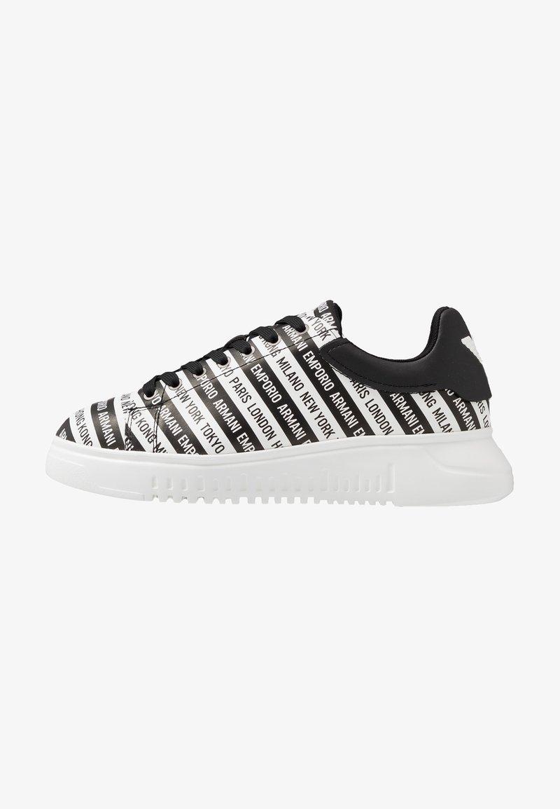 Emporio Armani - Sneakers - black/white