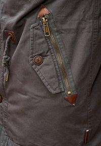 INDICODE JEANS - Winter coat - dark grey - 5