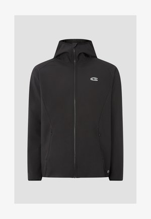 Soft shell jacket - black out