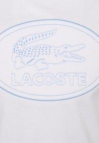 Lacoste - Print T-shirt - white - 7