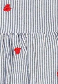 Zwillingsherz - Day dress - blau/ weiß - 2