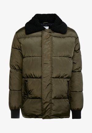Winter jacket - dark olive