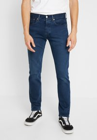 Levi's® - 501® SLIM TAPER - Džíny Slim Fit - ironwood - 0