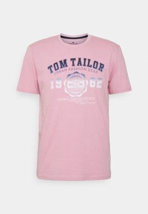 LOGO TEE - T-shirt print - soft pink