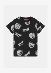 CHIARA FERRAGNI - T-SHIRT KIDS SPRAY - Print T-shirt - black - 0