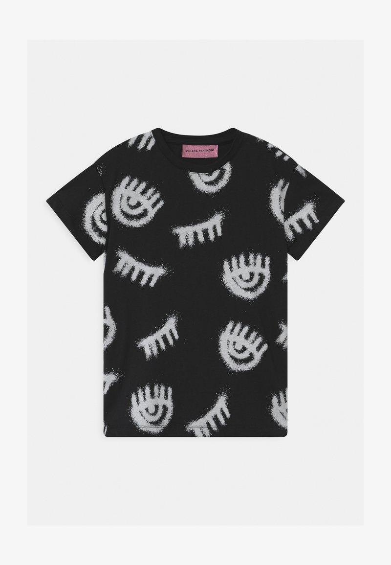 CHIARA FERRAGNI - T-SHIRT KIDS SPRAY - Print T-shirt - black