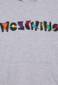 MOSCHINO - HOODED UNISEX - Sweatshirt - grey - 2