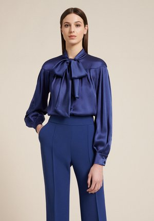 LETTERE - Button-down blouse - blu