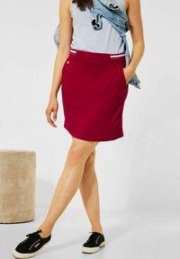 Street One - Pencil skirt - rot - 1
