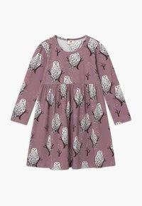 Walkiddy - Jersey dress - purple - 0