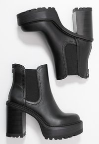 Madden Girl - KAMORA - High heeled ankle boots - black paris - 3