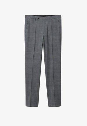 Oblekové kalhoty - mittelgrau