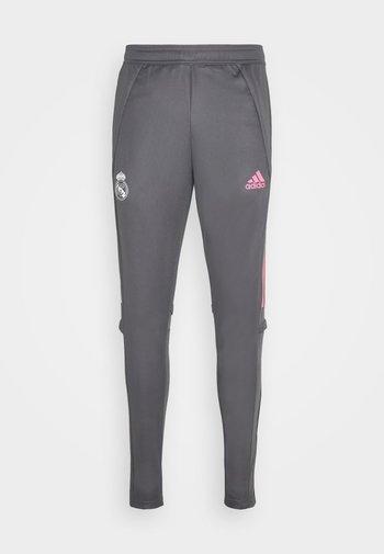 REAL MADRID AEROREADY SPORTS FOOTBALL PANTS - Klubbkläder - grey